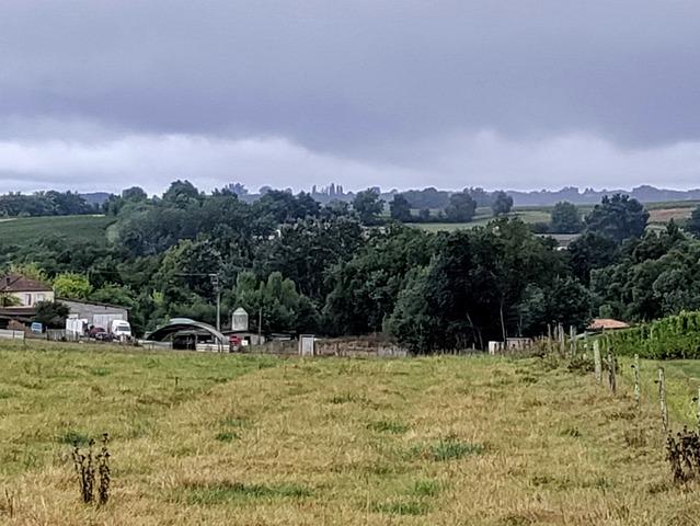 Vue sur la ferme de Gauvry